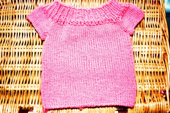 Pink Sweater 002