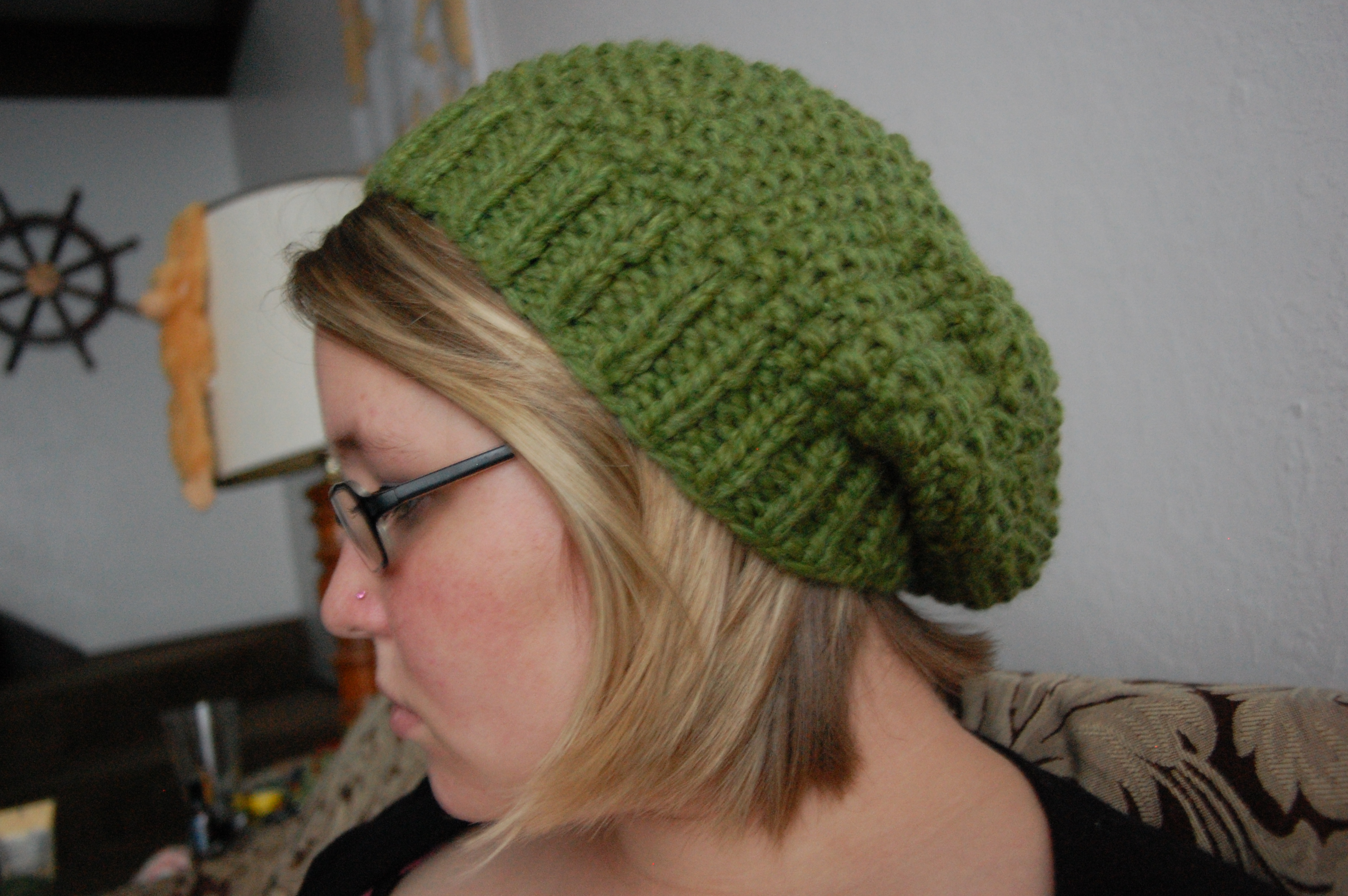 Free Knitting Pattern For Baby Slouch Hat : Slouch Hat Knitting Pattern Free Tattoo Design Bild