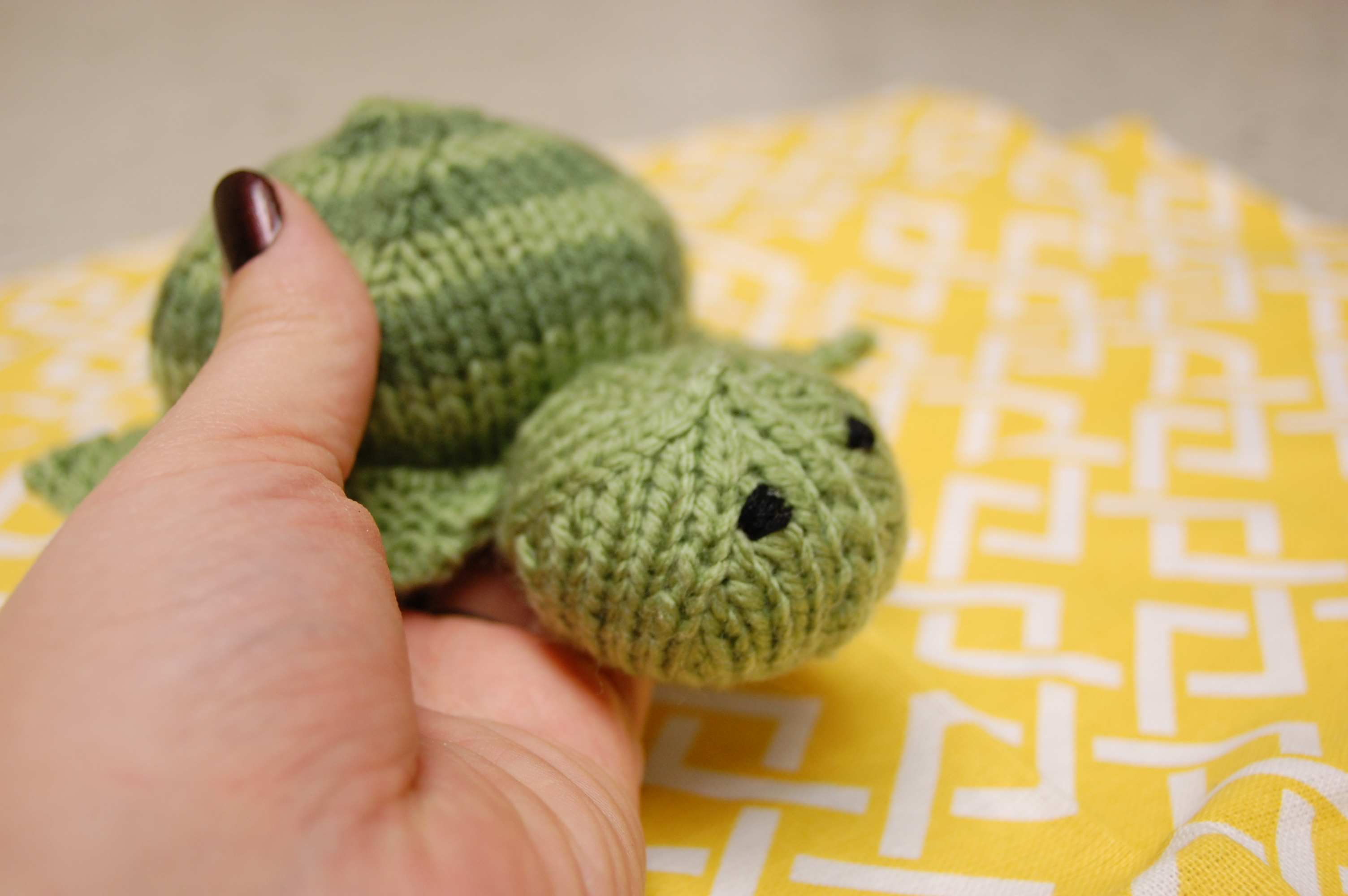Turtle Jr. | Knittybutton
