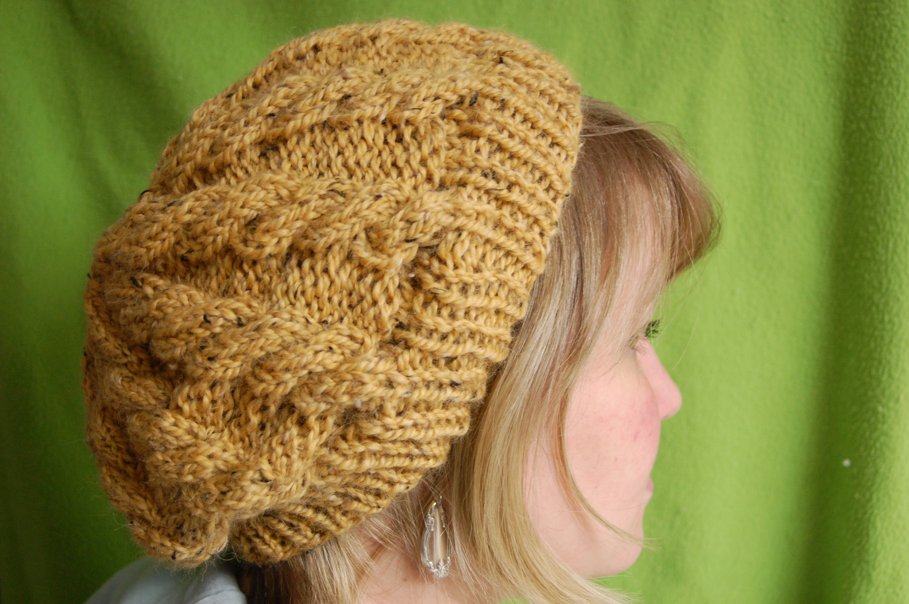 Lemon Curd Slouch | Knittybutton