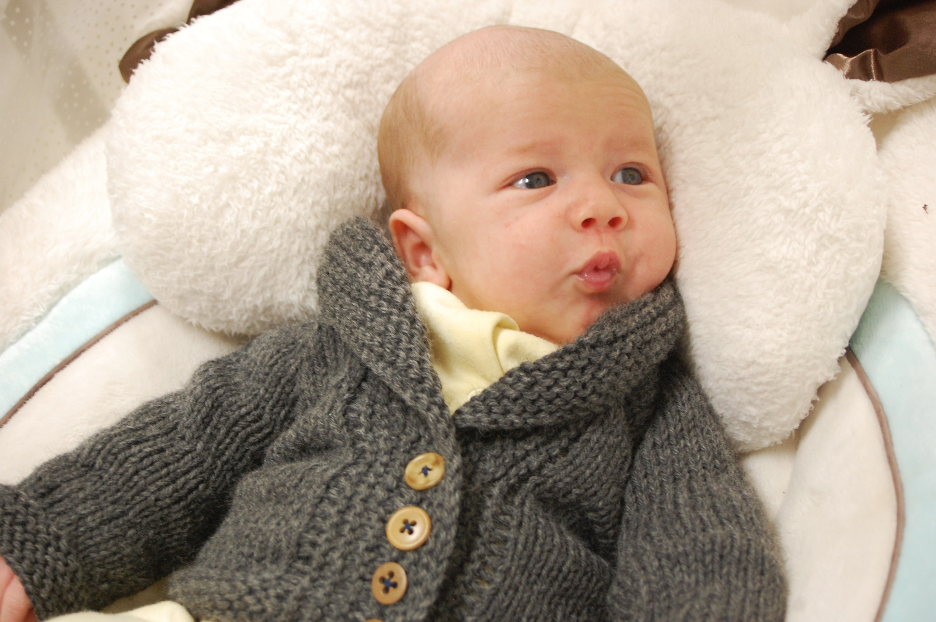 Baby Sophisticate | Knittybutton