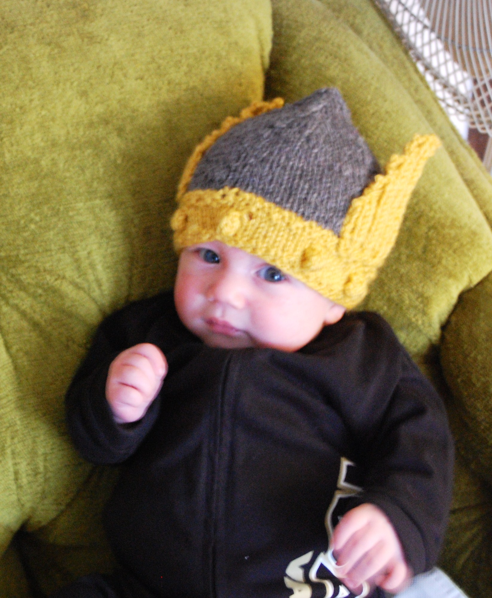 Viking Hat Knitting Pattern Free : Vandal Helmet Knittybutton